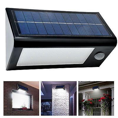 32 LED Solar Powered PIR Motion Sensor Security Spotlight Outdoor Garden Light