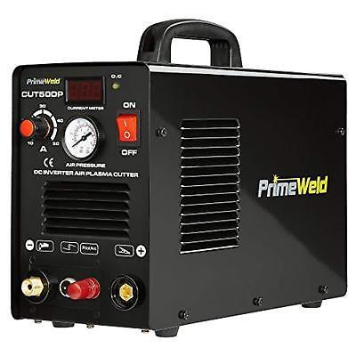 Plasma Cutter 50a Pilot Arc Cut50dp Primeweld Nontouch Inverter Dual Voltage