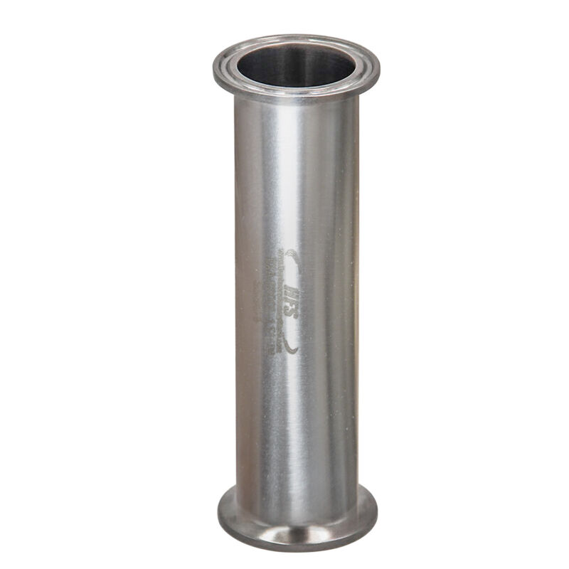 "HFS(R) 1.5"" Flow Sanitary High Grade Stainless Steel 304 Pipe, Length 4"""