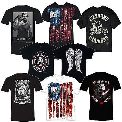 The Walking Dead Horror AMC TV Serie Merchandise Offiziell T-Shirt Männer Mens