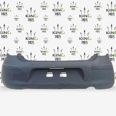 NISSAN MICRA K13 MK4 2010 2011 2012 2013 GREY REAR BUMPER A0351