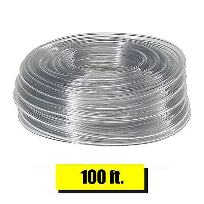 Vinyl Tubing 100ft Hvac Drain Hose Ac Condensate Pump 38in Od Water Tube Clear