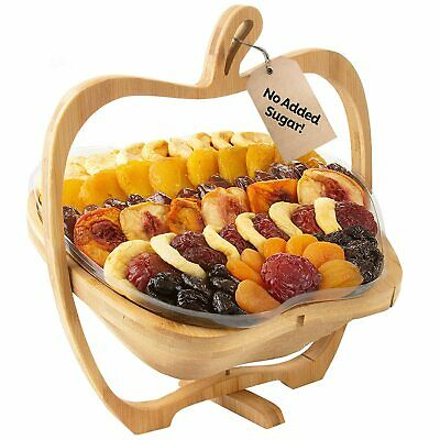 Christmas Gift Basket Assortment Dried Fruit No Sugar Added Thanksgiving Holiday