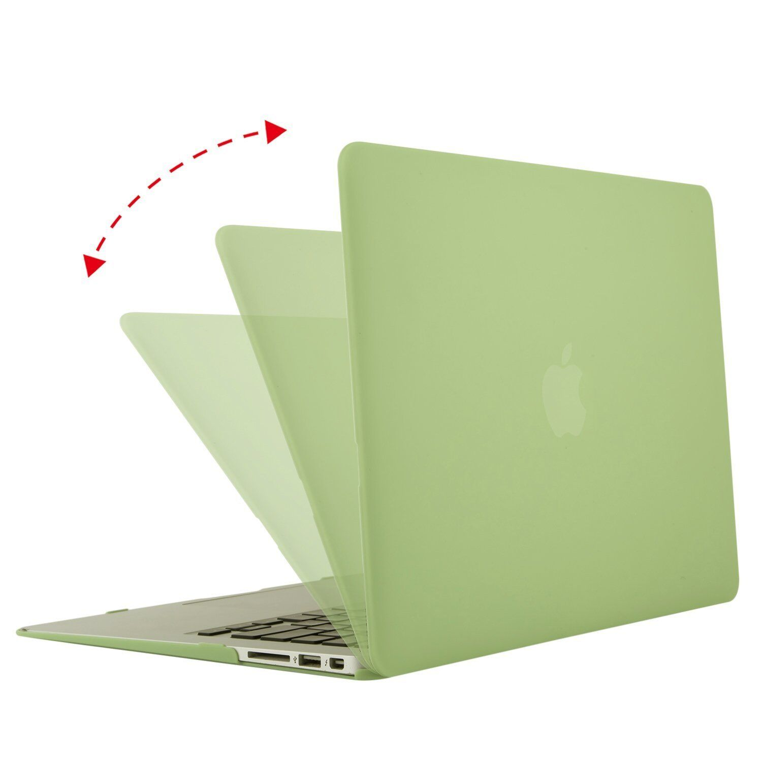 """Mosiso Lid Protective Shell Cover for Macbook Air 11''13"""" Case design 2012-2017"""