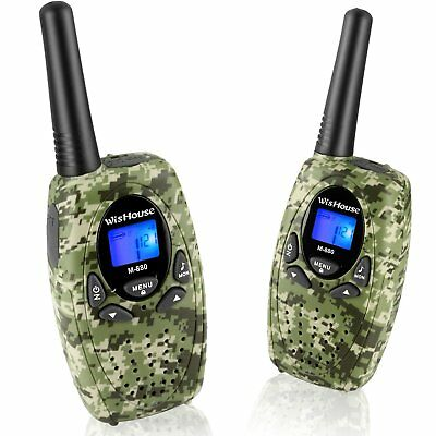 Best Kids Radio Walkie Talkies for Children with LCD Display (3Km, 2