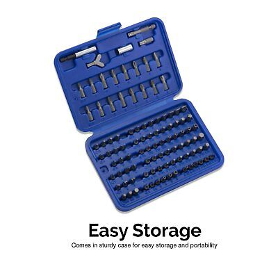 Neiko 101 Piece Security Bits Set with Ratcheting (101 Piece Set)