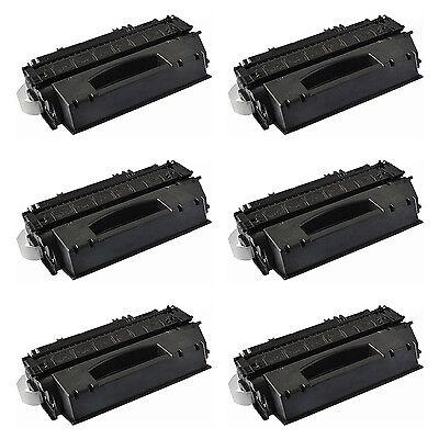 6PK Q5949X 49X Black Toner Cartridge For HP LaserJet 1320t 1320n 1320tn Printer