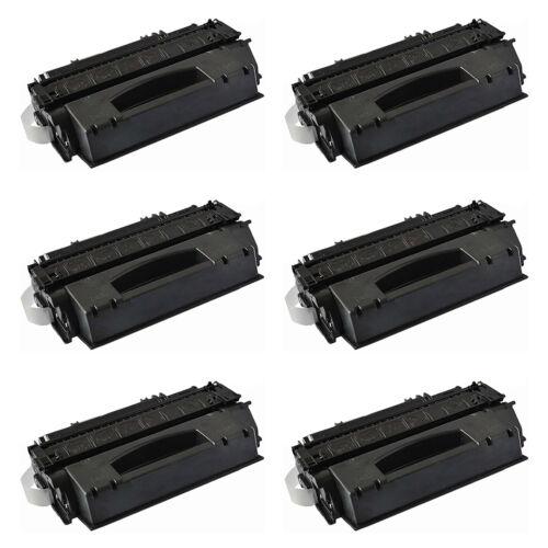 6pk Q5949x 49x Black Toner Cartridge For Hp Laserjet 1320...