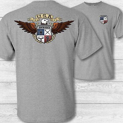 orker T-Shirt - USA Patriotisch Ironworking Handwerker Hemd (Patriotische Handwerk)