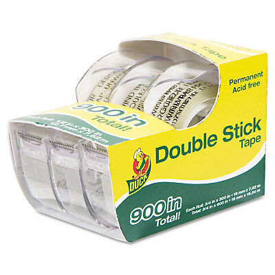 Duck Permanent Double-stick Tape 12 X 300 1 Core Clear 0021087