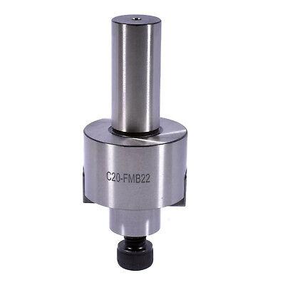 New 20mm Straight Shank Fmb22 2 Face Mill Tool Holder Arbor