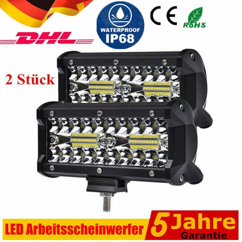 2x400W LED Arbeitsscheinwerfer Offroad Scheinwerfer 12V 24V für Jeep SUV Bagger