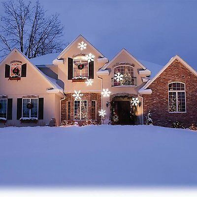 SNOWFLAKE OUTDOOR LIGHT LED,PROJECTOR NIB](Lighted Snowflakes Outdoor)
