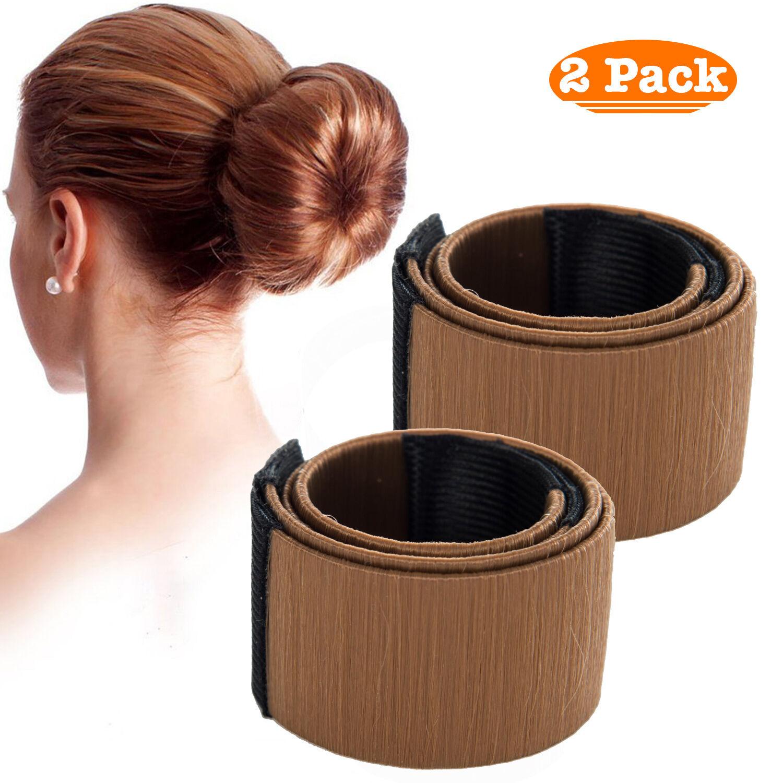 1er oder 2er Set Dutthilfe Dutt Hilfe Frisurenhilfe Haarschmuck Haarband