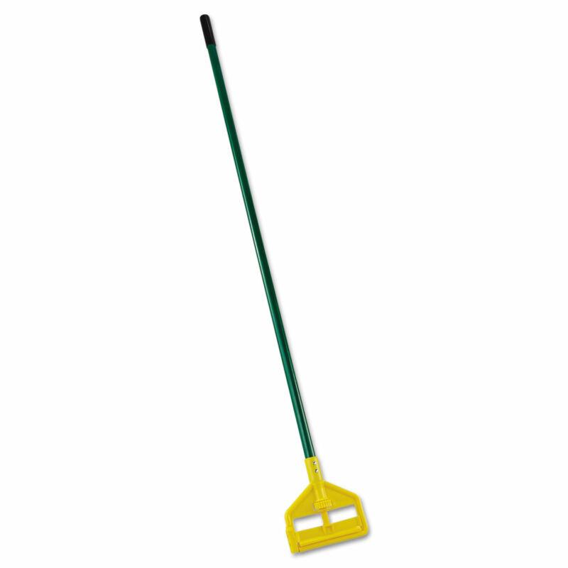 "Rubbermaid Commercial Invader Side-Gate Wet-Mop Handle 60"" Green Fiberglass"