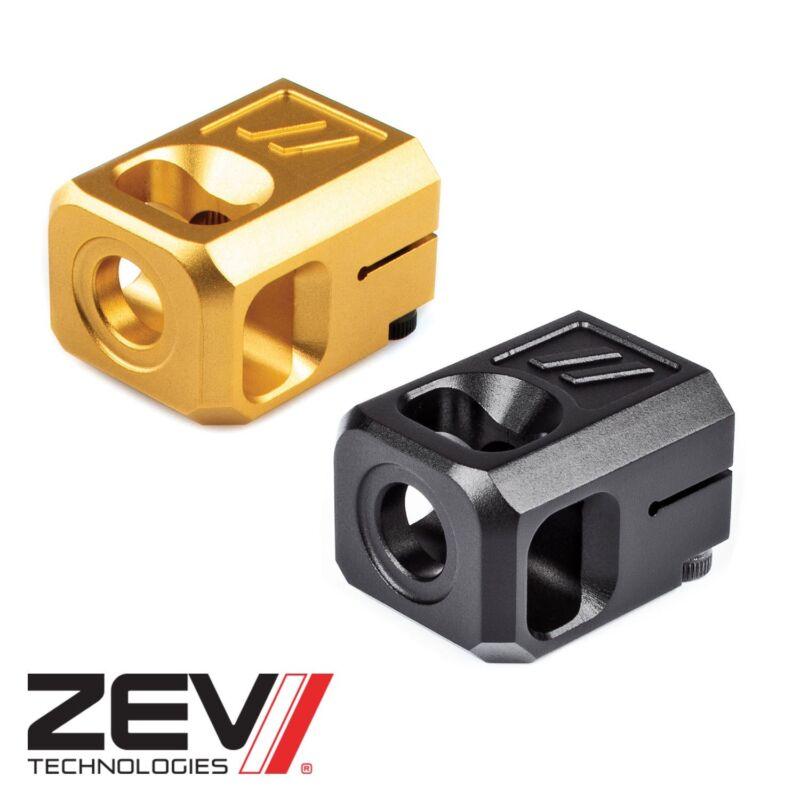 Details about ZEV Technologies PRO Compensator V2 for 9mm Glocks (1/2×28  Threads) 17 / 19 Comp