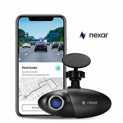 Car Dash Cam Paired to the Nexar App Vehicle Accessories with 32 GB SD Card NEw