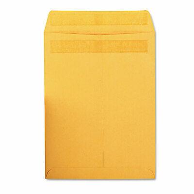 Quality Park Redi Seal Catalog Envelope 9 X 12 Brown Kraft 100box 43567