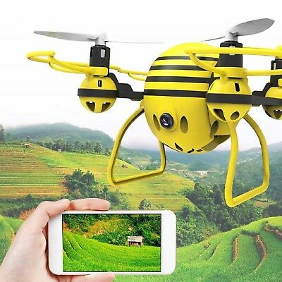 Quadcopter With HD Camera WiFi Breathing Video APP Remote Control Headless Vogue Drone