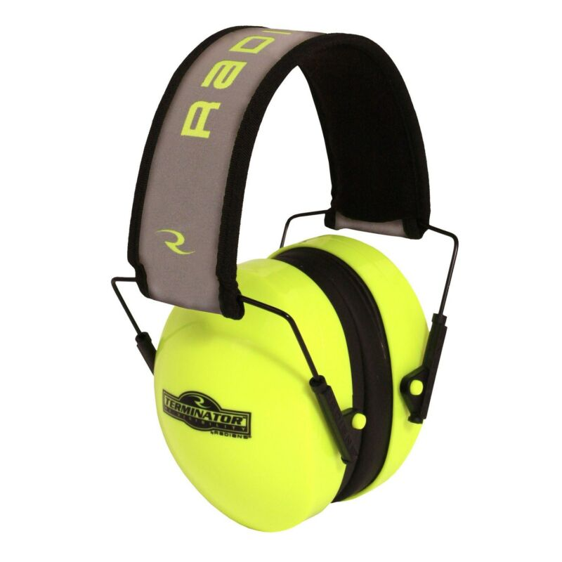 NEW RADIANS HI-VISIBILITY TERMINATOR FOLDING EAR MUFFS GREEN TR0HVG-BX