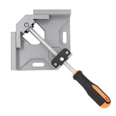 Single Handle Aluminum Alloy Right Angle Clamp 90 Degree Corner Clamp Swing Jaw (Swing Single Handle)