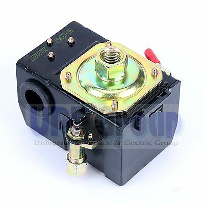 Air Compressor Pressure Switch Control Switch For Black Max Jenny 95-125