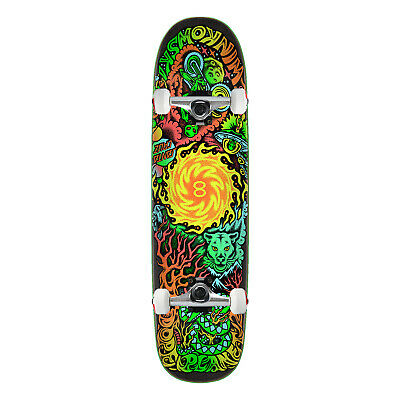 "Santa Cruz Skateboard Winkowski Dope Planet Two Powerply 8.5"" x 31.8"" Raw trucks"