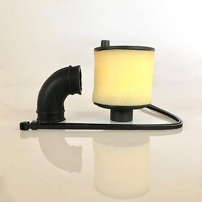 Gebraucht, Luftfilter 1:8 3.5 - 6.0 ccm schwarz mit Silikonadapter und Feinstaubschutz part gebraucht kaufen  Illschwang