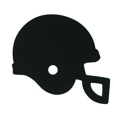 Football Helmet Cutouts Plastic Shapes Confetti Die Cut FREE SHIPPING (Football Helmet Cutouts)