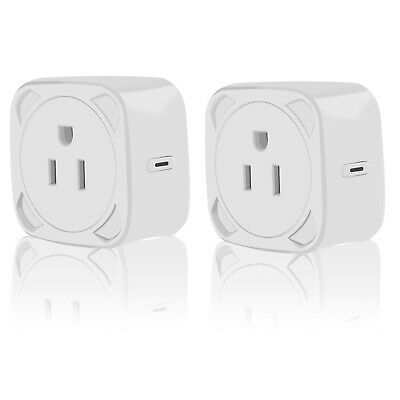 Wifi Mini Smart Home Remote Control Plug Power Socket Timer Outlets Alexa Google
