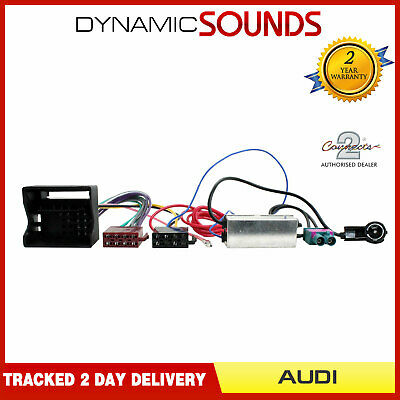 CT20AU03 Car Stereo Radio ISO Harness Wiring Loom Adaptor for Audi A3 A4 TT