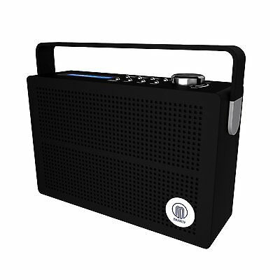 Majority Newnham DAB+ DAB FM Digital Portable Radio With Rechargeable Battery