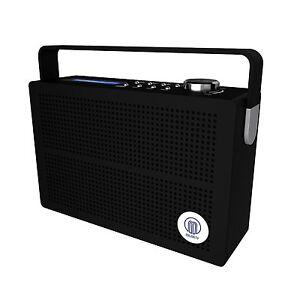 Majority Newnham DAB FM Digital Portable Radio With Rechargeable Battery