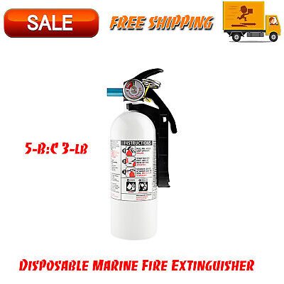 5-bc 3-lb Disposable Marine Fire Extinguisher Facility Safety Equipment