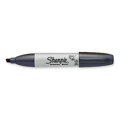Sharpie  Slate Grey Permanent  Marker Broad Chisel Point Tip New 1927296](Gray Sharpie)