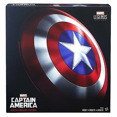 Marvel Legends Captain America Shield Full Size 24 inch Prop Replica in Stock - 24 Inch Captain America Shield