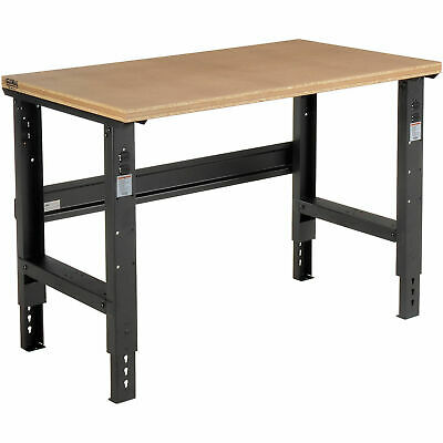 Adjustable Height Workbench C-channel Leg 48w X 30d 1-12 Shop Top Square