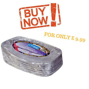 Party Serving Foil Platters Disposable Catering Food Snacks Oval Tray Plate x 20  sc 1 st  eBay : disposable serving plates - pezcame.com
