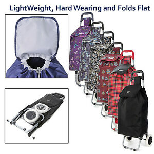 Hoppa-23-Folding-Wheeled-Funky-Big-47L-Shopping-Trolley-Festival-Paperround-Bag