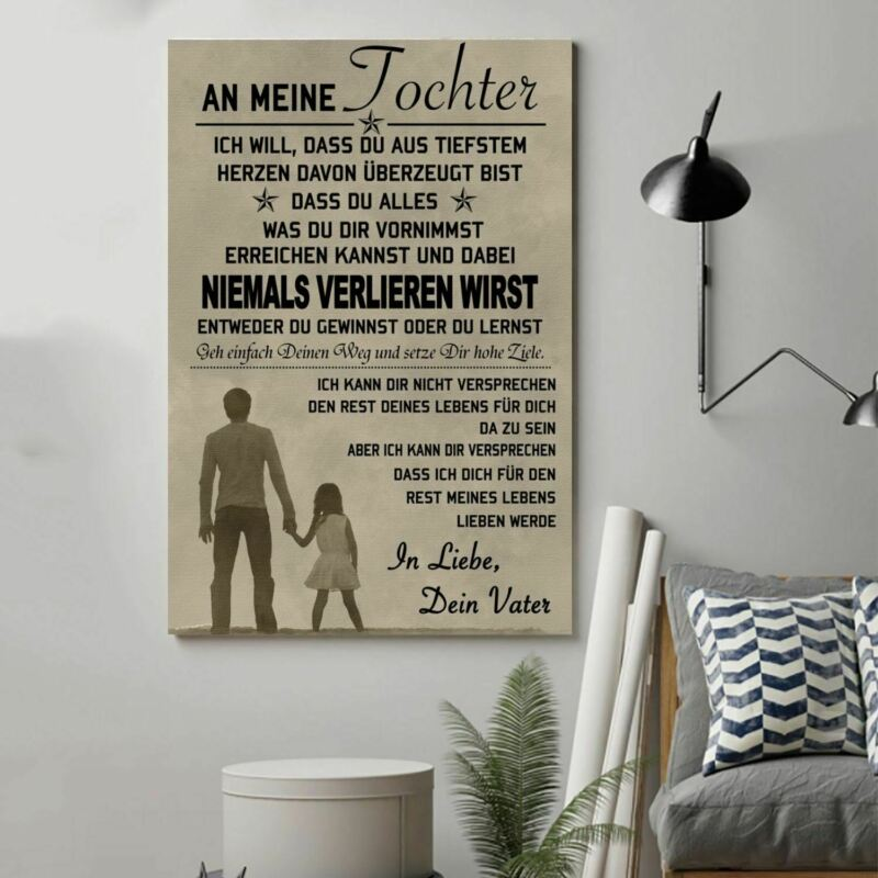 Cv8 Family Poster - To My Daughter Germany