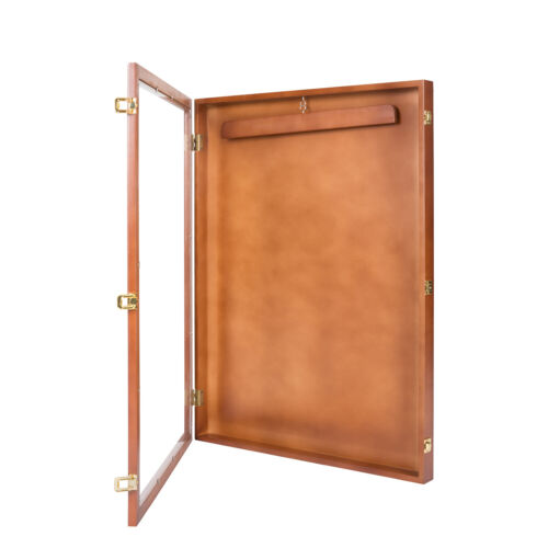 """31.4"""" Sport Jersey Display Case Shadow Box for Jersey Display w/ Lock basketball"""