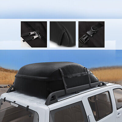 20 Cubic Feet Car Roof Cargo Bag Luggage Carrier Rack Storage Travel Waterproof# Roof Rack Storage