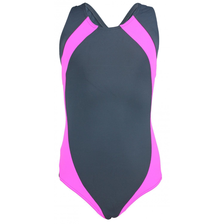 Mädchen Schwimmanzug Open Back Sport Badeanzug Schwimmer