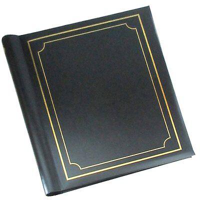 Large Self Adhesive Photo Albums Spiral Bound 20 Sheets 40 Sides Black