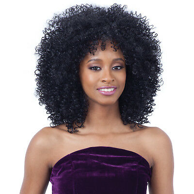WILLOW - FREETRESS EQUAL SYNTHETIC FULL WIG TIGHT CURLY AFRO STYLE ()