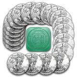 *PRE-SALE* 2017 1 oz Silver American Eagle Coins BU (Lot of 20) - SKU #117462