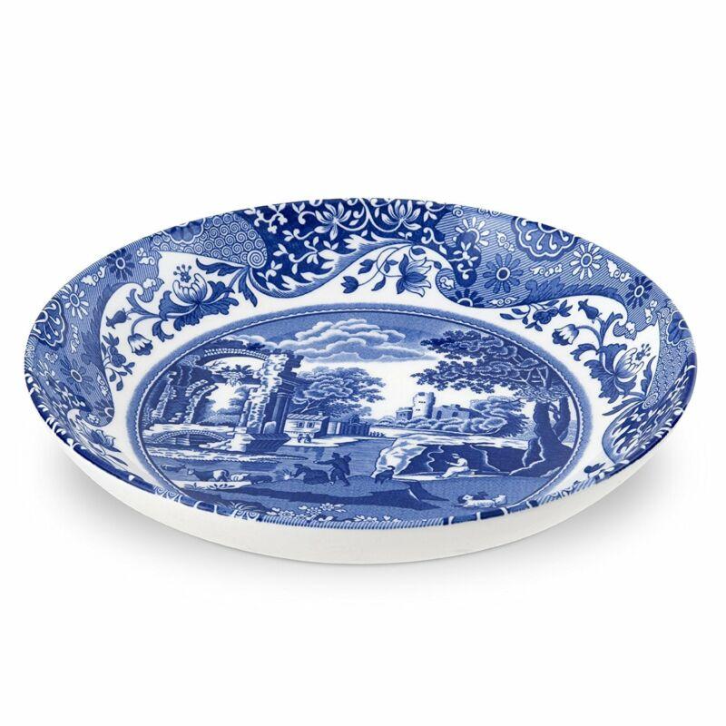 Spode Blue Italian Pasta Bowl, Set of 4