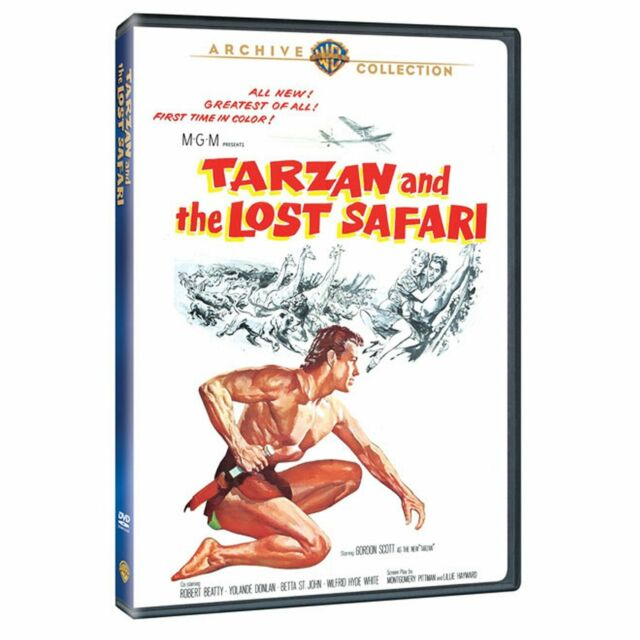 TARZAN & THE LOST SAFARI - (1957 Robert Beatty) Region Free DVD - Sealed
