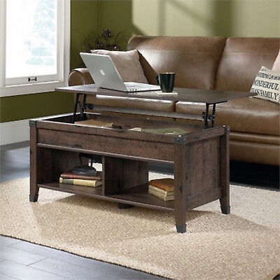 Coffee Itemization Living Room Furniture Lift Top Rectangular Storage Home Decor New