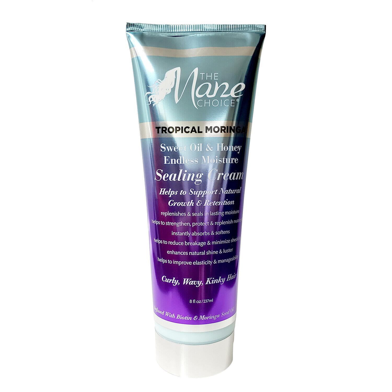 The Mane Choice Tropical Moringa Sealing Cream 8oz Hair Care & Styling